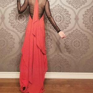 BCBG MaxAzria RUNWAY 100% silk dress